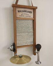 Washboard Tortosa Luthier  handmade musical instrument  Tabla de lavar Tallador