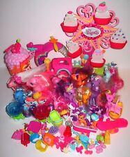 MY LITTLE PONY 20 Ponies Ferris Wheel Train Soda Shop BUNDLED LOT