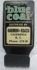 Old BLUE COAL America's Finest Anthracite Sign Matchbox Holder H&R Cazenovia NY