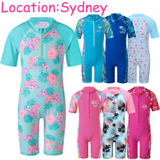 Swimwears 2-11Y Girls Boys Swimsuits UV+50 Surf Suit Sunsuits Swimmer Kid Bather