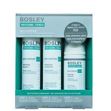 Bosley - Kit per Capelli Fini - Volume e Ispessente con cellule staminali