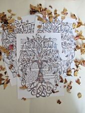 BEAUTIFUL DESIGNED 3 PAGES OF INFORMATION TO GET YOUR BOOK OF SHADOWS STARTED