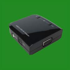 Micro HDMI UXGA/1080p (D Type) to VGA AV Adapter with Audio 3.5MM Jack or SPDIF