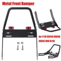 Metal Front Bumper for 1/10 SCX10 90046 90047 D90 D110 RC Crawler Upgrade Part