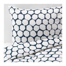 Copripiumino singolo IKEA FLANO/Quilt Copri e 2 Federe-Blu Navy Bianco 203.090.41
