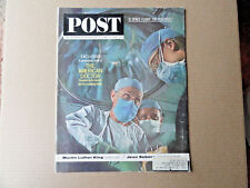 Saturday Evening Post Magazine June 15 1963 Complete