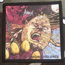 Hirax Raging Violence Printed Patch H017P Dark Angel Slayer Testament