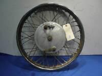 BSA pre unit front wheel A7 A10 Goldstar B33                                D976