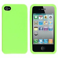 Silicone Skin Case for iPhone 4 / 4S - Green