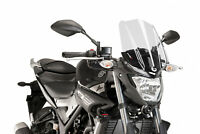 PUIG NAKED N.G. TOURING SCREEN YAMAHA MT-03 16-17 CLEAR