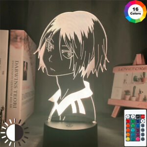Anime Haikyuu Led Night Light Kozume Kenma Lamp Bedroom Decor Kids Birthday Gift