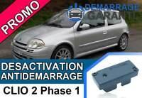 Clé de désactivation d'anti démarrage Renault CLIO 2 PHASE 1