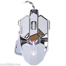 G10 4000 DPI LED Optical USB Gaming Mouse Macro Programming 10 Keys Adjustable