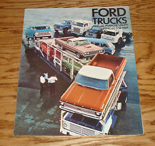 FL Truck Sales Brochure F-N-W Series 1969 Ford Pickup Bronco Ranchero B-C NOS