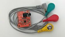 Ecg Module Ad8232 Ekg Heart Pulse Monitoring Arduino Compatible Sensor Kit Usa