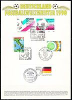 Germany 1990 Fussballweltmeister World Cup Winner Soccer Championships RARE