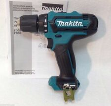 "New Makita 12 Volt Lithium Ion CXT 3/8"" Cordless Drill Driver Model # FD05"