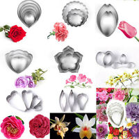 Flower Petal Leaf Biscuit Cookie Cutter Cake Decor Pastry Baking Mould Mold Tool