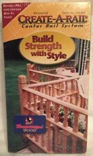 CREATE-A-RAIL * Center Rail System Instructions -- More VHS in Store, Rare & OOP