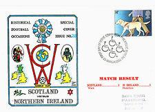 25 MARCH 1981 SCOTLAND 1 NORTHERN IRELAND 1 WORLD CUP COMMEMORATIVE COVER