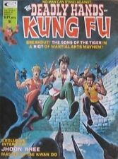 9/75 DEADLY HANDS OF KUNG FU COMIC JHOON RHEE TAE KWON DO KARATE MARTIAL ARTS