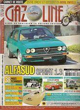 GAZOLINE 194 CITROEN GS 76 78 DAIMLER SP 250 ALFASUD SPRINT 1.3 FORD EIFEL 38