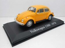 1/43 COCHE VOLKSWAGEN 1300 1970 BEETLE Escarabajo IXO RBA  1:43 METAL MODEL CAR