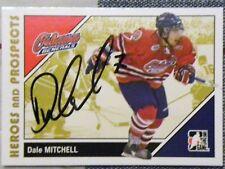 Toronto Maple Leafs Dale Mitchell Signed 06/07 ITG H&P Oshawa Generals Card Auto