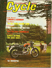 MINT Cycle Magazine February 1965 All-Star Race Team, Triumph,  BSA, Indian