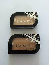 2 X Rimmel MagnifEyes - Mono Eyeshadow - 001 Gold Record New UK SELLER