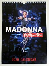 Madonna - Rebel Heart Tour Wall Calendar 2020 A4 New Sealed