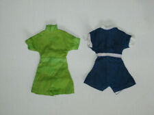 Vintage 60s Tammy Ideal Teenage Clone Playsuit Bodysuit Set Of Two