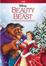 Beauty and the Beast: An Enchanted Christmas (DVD, 2016) FREE SHIPPING!!
