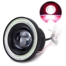 2Pcs Car COB LED Angel Eyes Fog Light Halo Ring Lens Projector DRL Driving Lamp