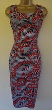 VIVIENNE WESTWOOD GOLD LABEL S IMMACULATE PIXEL PRINT DRAPED WEDDING RACES DRESS