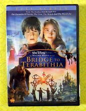 Bridge to Terabithia ~ New DVD Movie ~ Walt Disney Children's Sealed Video