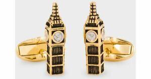 Paul Smith Cufflinks - NEW Gold & Silver London Big Ben Cufflinks RRP:£100