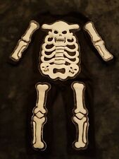 Skeleton all in one outfit - Fancy dress costume 6-7 yrs