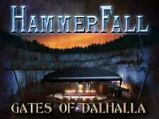 Gates of Dalhalla  2cd+ dvd ltd edition HAMMERFALL long box special set