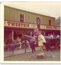 Boys On Fake Horse Tweetsie General Store Amusement Park BLOWING ROCK NC Photo