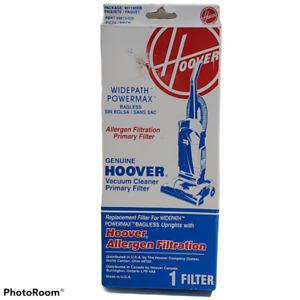 Hoover VACUUM CLEANER FILTERS,PRIMARY - ALLERGEN FILTRATION , WIDEPATH POWERMAX
