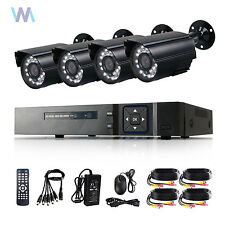 CCTV DVR 4CH HDMI Outdoor 700TVL 960H Camera System Outdoor CCTV Security System
