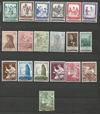Poste Vaticane 1965 18 timbres neufs et 1 timbre oblitéré /T4878