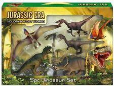 5 pc Dinosaur Dino Play Toy Animal Action Set Park T Rex Jurassic Era Lost World