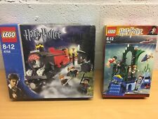LEGO HARRY POTTER 4758 4762 NEW SEALED HOGWARTS EXPRESS RESCUE FROM MERPEOPLE