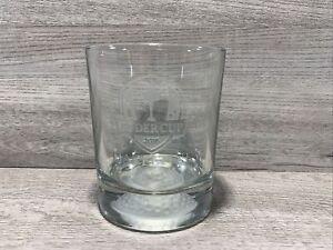 2016 Ryder Cup Hazeltine Mn Heavy Drinking GlassTumbler Golf Ball Bottom Rare