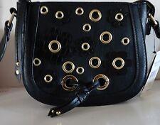 NEW Nine West Women's Mini Evelina Leather Cross Body Bag Satchel $59
