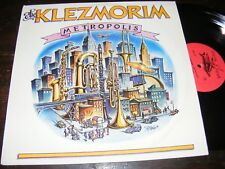 THE KLEZMORIM Metropolis 81 Klezmer Band Essentl SAN FRANCISCO Constantinople LP