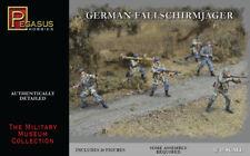 PEGASUS 3204 WW2 GERMAN FALLSCHIRMJAGER PARATROOPERS 1/32 SCALE 54MM