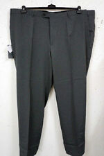 Lange unifarbene Herrenhosen aus Polyester mit mittlerer Bundhöhe